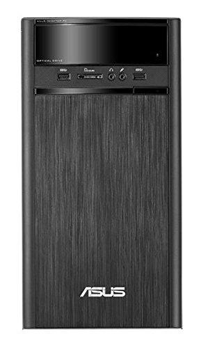 ASUS K31AN-SP002T - Ordenador de sobremesa (Intel Pentium J2900, 4 GB de RAM, HDD de 1 TB, Intel HD Graphics, Windows 10), negro - teclado y ratón QWERTY Español