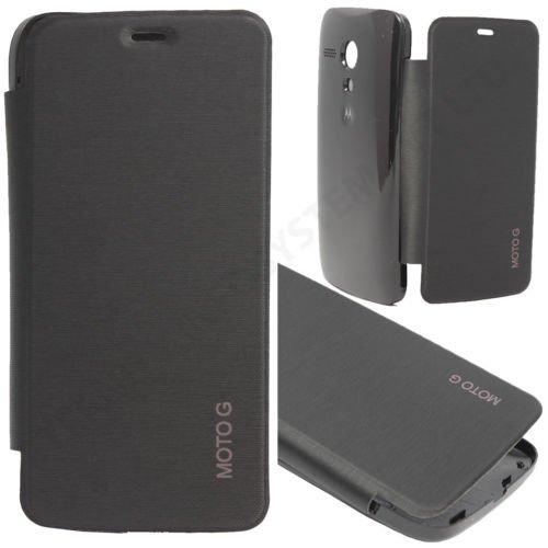 Mono Flip Cover for Moto G - Black