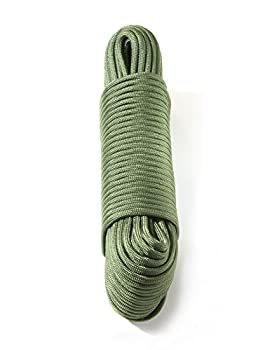 Dyd Strong Rope Parachute Rope (30 M, 375 Kg Heavy Duty) Us Military Standard 5040h Type Iv 750 Paracord Parachute Cord Mil C), Green 2