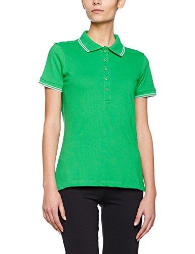 JAMES & NICHOLSON, Polo Femme Grün (fern-green/white)