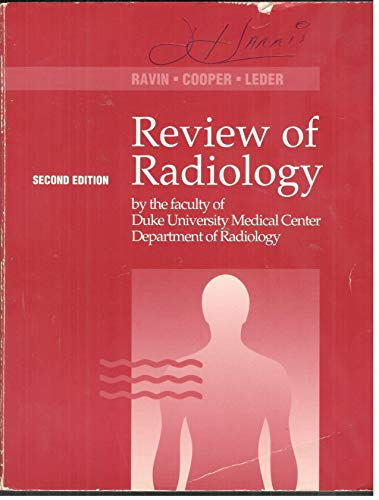 Review of Radiology PDF Books