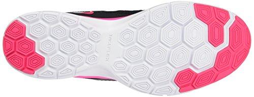 Nike Damen Wmns Flex Trainer 5 Print Turnschuhe Black (Schwarz / Hyper - Rosa-Weiß)
