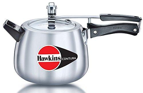 Hawkins Contura Pressure Cooker, 6.5 Litres at amazon