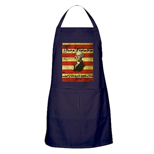 CafePress Washington, Schürze (dunkel) Küchenschürze mit Taschen, Grillschürze, Backschürze