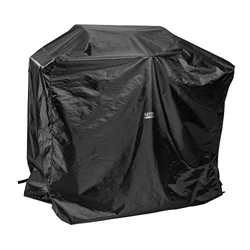 Mayer Barbecue, Grillabdeckung, Grill Abdeckhaube, schwarz, 125 x 65 x 100 cm, wetterfest