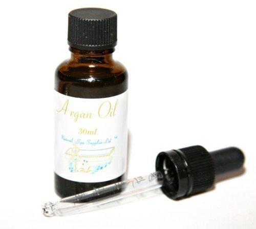 Argan Oil, Vierge Marocaine Pure, Pressée À Froid Bio, 30ml avec Pipette
