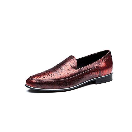 OPP Chaussures de Ville en Cuir Sneaker Basses Hommes