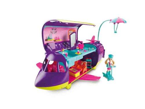 Mattel W1771 - Polly Pocket Abenteuer-Jet (Pocket Polly Spiele)