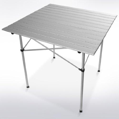 MIADOMODO Adult Folding Camping Table, 70 x 70 x 70 cm