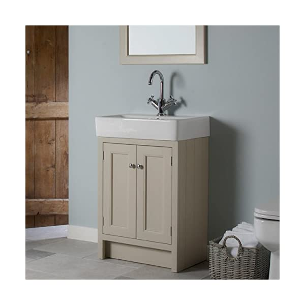 Roper Rhodes Mocha Hampton 600mm Bathroom Washstand Vanity Unit And