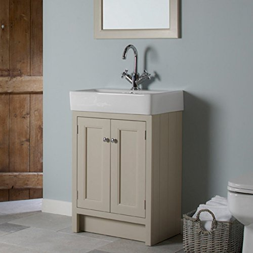 Roper Rhodes Mocha Hampton 600mm Bathroom Washstand Vanity Unit and Basin