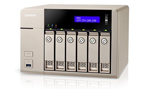 QNAP TVS-663-8G NAS/DiskStation TVS-863-8G/6-Bay/SATA 6Gb/s/ 2 x GbE LAN