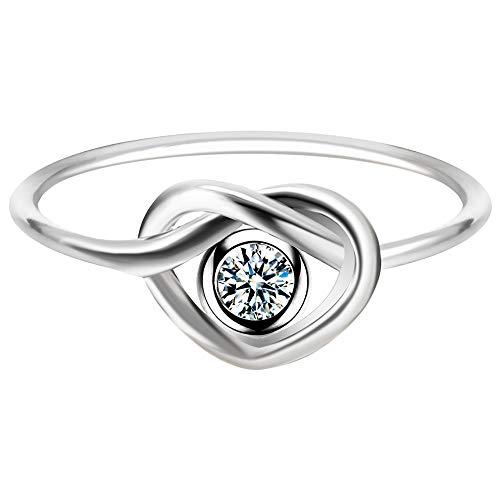 QIANDI Midi Bar Form Ring Geometrische Minimalismus Jewelry PammyJ Ohrringe mit Dreieck Knuckle Ringe für Frauen Geschenk