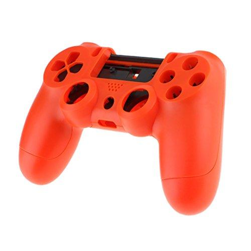 Baoblaze Front Shell Gehäuse Oberschale für PS4 Controller - Rot (Oberen Deckel)