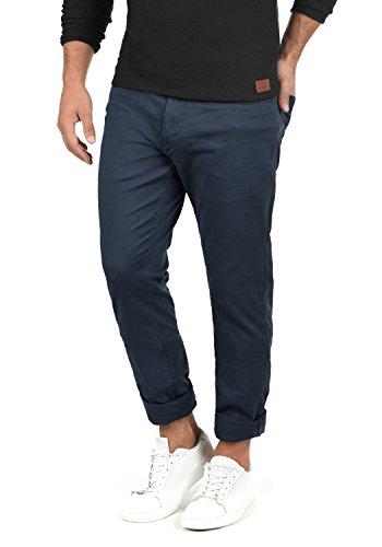 Tiger Herren Leder (Blend Saturn Herren Chino Hose Stoffhose Aus Stretch-Material Slim Fit, Größe:W31/32, Farbe:Navy (70230))