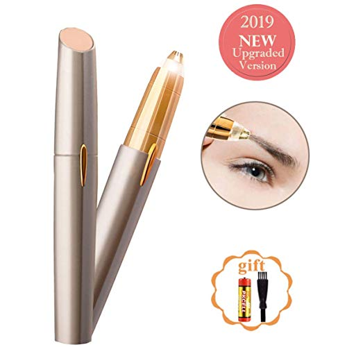 BEENLE Eyebrow Trimmer Hair Remover - Portable, Precise and Safe Eyebrow Razor Shavers, Easy to Use - Instant and Painless Electric Facial Hair Remover Brows, A Perfect Gift for Women