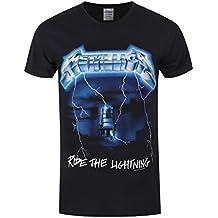 Metallica Ride The Lightning Camiseta Negro