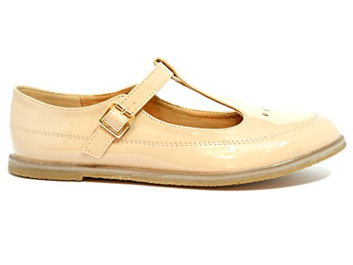 Envy London - Cinturino a T donna Nude
