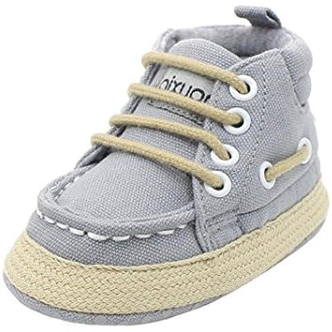 Kingko® bambino scarpe di tela bambina di morbido scarpe con suola antiscivolo scarpe bambino scarpa da tennis scarpe unisex presepe