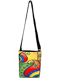 All Things Sundar Womens Sling Bag / Cross Body Bag - S06 - 19
