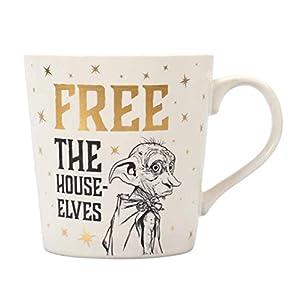 Half Moon Bay Taza Desayuno Harry Potter Dobby Free The House Elves, 325ml 13