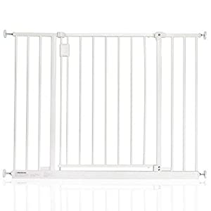 Safetots Extra Wide Hallway Gate, 97-103 cm, White   2