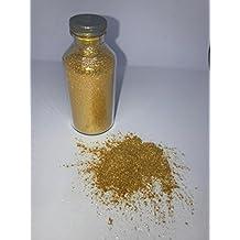 Polvo alimentario comestible colorante oro brillante–Maceta de 15G