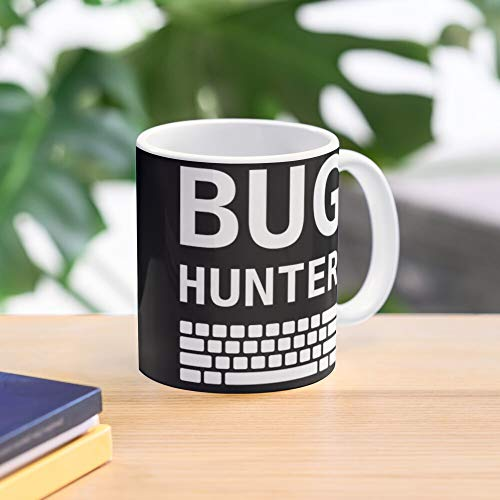 Test With Bug Keyboard Font Engineers Hunter Mug Meistverkaufte Standardkaffee 11 Unzen Geschenk Tassen für alle