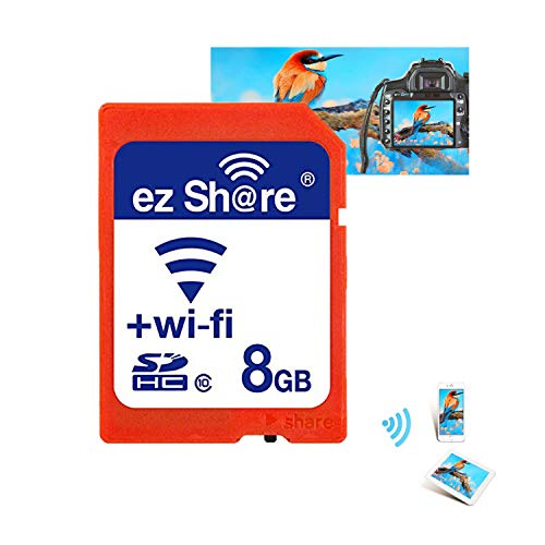 2018 Pen Drive Real Capacity ez Share WiFi SD-Karte Speicherkarte SDHC Card Kamera 8GB -