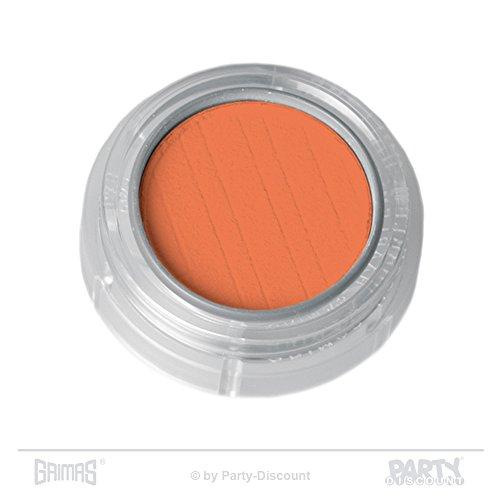 Grimas Lidschatten/Rouge, Döschen 2g, Farbe 553 Orange, Profi-Make-Up, hochpigmentiert