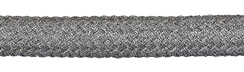 Absperrseil / Barrier Rope / Seil / Kordel Ø 25mm Fb. silber glänzend