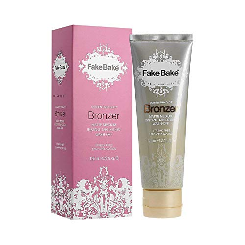 Fake Bake Bronzer Wash Off Instant Tan - 125 ml (Wash Body Tanning)