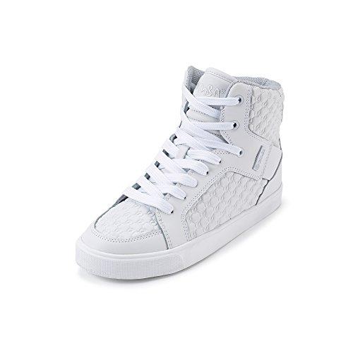 Zumba Footwear Street Boss, Chaussures de Fitness Fille, Blanc (White), 39 EU