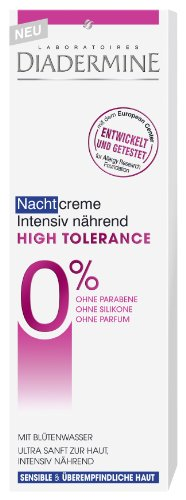 Diadermine High Tolerance Intensiv Nährende Nachtcreme 50ml