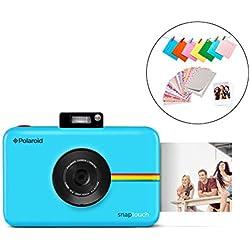 Polaroid Snap Touch 2.0 - Appareil Photo Numérique de 13 Mp, Bluetooth, Écran Tactile LCD, Vidéo 1080P et Nouvelle Application, 5 x 7,6 cm, Bleu