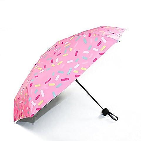VKStar® Parapluie Pliable Auvent Ouverture et Fermeture Automatique Parapluies de