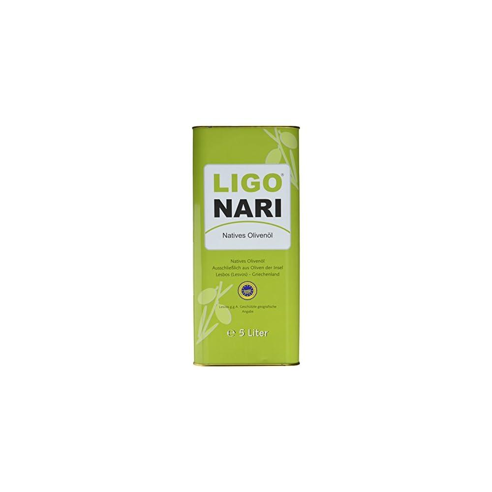Ligonari Natives Olivenl 500l Kanister 1er Pack 1 X 5 L