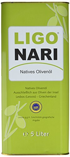 Ligonari Natives Olivenöl - 5,00L Kanister, 1er Pack (1 x 5 l)