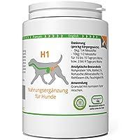 ww7 H1 | Darm & Wurm Formel für Hunde | 150g Natürliches Premium Granulat