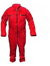 Arbeitsoverall Arbeitskombi Arbeitsanzug Schutzanzug Overall Kombi Rallye  Fasching - Rot Gr. 46-60 0b444f3f4e