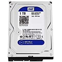 "WD WD10EZEX Blu Hard Disk Desktop da 1 TB, 7200 RPM, SATA 6 GB/s, 64 MB Cache, 3.5 """