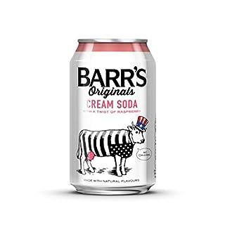 Barr's Originals Cream Soda with a Twist of Raspberry Cans, 330ml - Pack of 24 (B0048F0AKI)   Amazon price tracker / tracking, Amazon price history charts, Amazon price watches, Amazon price drop alerts