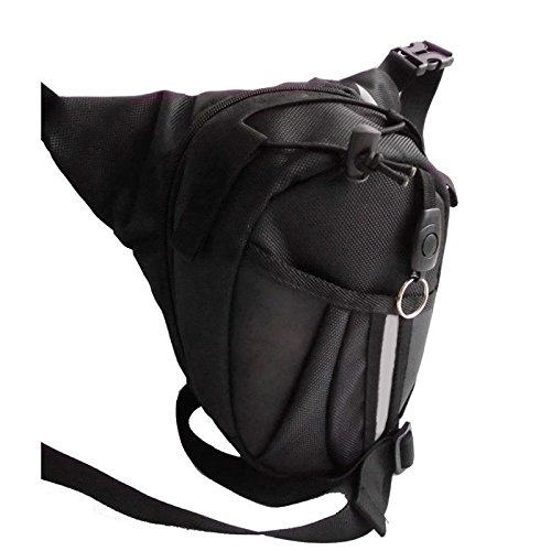 zooarts gota pierna bolsa paquete Caballero cintura mochila para bicicleta motocicleta al aire libre