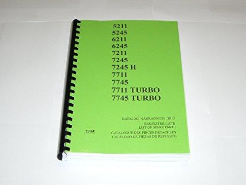 Parte di ricambio catalogo ZETOR 5211 - 7745, tedesco