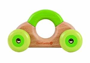 """EverEarth Le jouet clac-clac """"Auto"""" jouet en bois, naturel Hochet Auto"""
