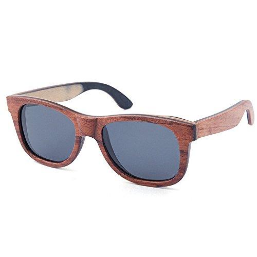 Ppy778 Holz Retro Vintage Designer Sonnenbrillen Wayfarer Aviator Outdoor Sports Sonnenbrillen UV400