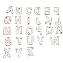 Saiko - 26 troqueles de corte de letras en relieve, para álbumes, tarjetas,