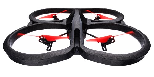 Parrot AR.Drone 2.0 Power Edition Quadrocopter (geeignet für Android-/Apple-Smartphones und -Tablets) rot - 2