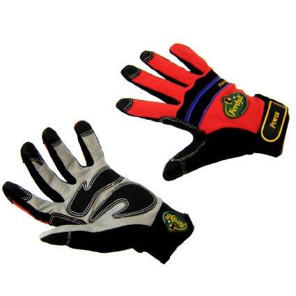 Pow Leder (FerdyF. Clarino®-Kunstleder Montagehandschuh Größe (Handschuhe): 8, M EN 388 CAT II Mechanics POW)