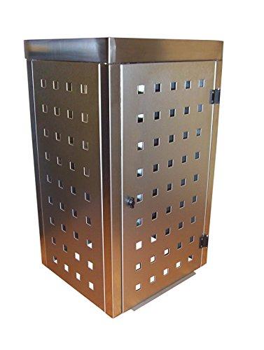 Mülltonnenbox Modell Eleganza 240 Liter mit Pflanzwanne